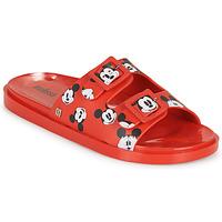 Cipők Női Papucsok Melissa WIDE - MICKEY & FRIENDS AD Piros