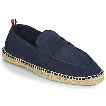 Cipők Férfi Gyékény talpú cipők 1789 Cala MARINA LEATHER Kék