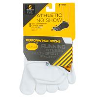 Kiegészítők Sport zoknik Vibram Fivefingers ATHLETIC NO SHOW Fehér