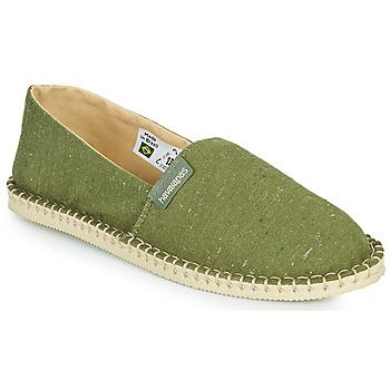 Cipők Gyékény talpú cipők Havaianas ESPADRILLE ECO Zöld