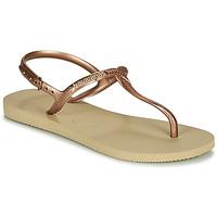 Cipők Női Szandálok / Saruk Havaianas TWIST Bézs