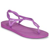 Cipők Női Szandálok / Saruk Havaianas LUNA Lila
