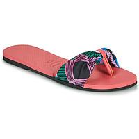 Cipők Női Lábujjközös papucsok Havaianas YOU SAINT TROPEZ Rózsaszín
