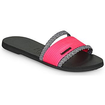 Cipők Női Papucsok Havaianas YOU TRANCOSO Fekete