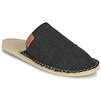 Cipők Papucsok Havaianas ESPADRILLE MULE ECO Fekete