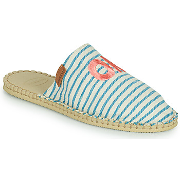 Cipők Női Gyékény talpú cipők Havaianas ESPADRILLE MULE FUN ECO Kék