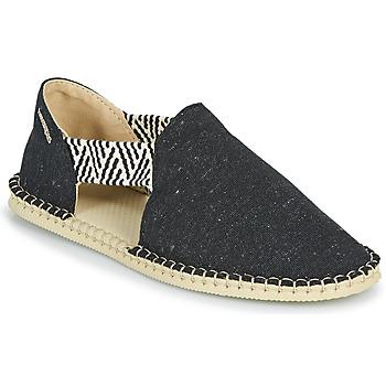 Cipők Női Gyékény talpú cipők Havaianas ESPADRILLE FRESH ECO Fekete
