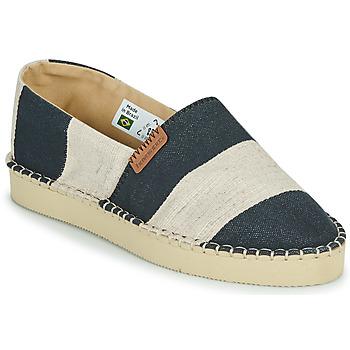 Cipők Női Gyékény talpú cipők Havaianas ESPADRILLE CLASSIC FLATFORM ECO Fekete