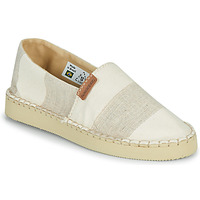 Cipők Női Gyékény talpú cipők Havaianas ESPADRILLE CLASSIC FLATFORM ECO Bézs