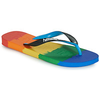 Cipők Lábujjközös papucsok Havaianas TOP LOGOMANIA MULTICOLOR Sokszínű
