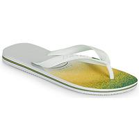 Cipők Lábujjközös papucsok Havaianas BRASIL FRESH Fehér