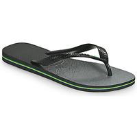 Cipők Lábujjközös papucsok Havaianas BRASIL FRESH Fekete