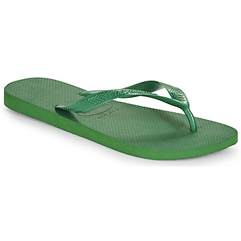 Cipők Lábujjközös papucsok Havaianas TOP Zöld