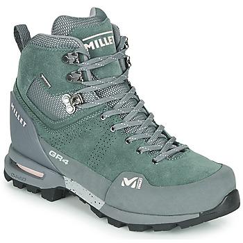 Cipők Női Túracipők Millet GR4 GORETEX Zöld / Fekete