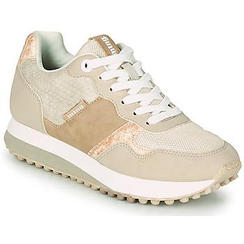 Cipők Női Rövid szárú edzőcipők MTNG 60033 Bézs