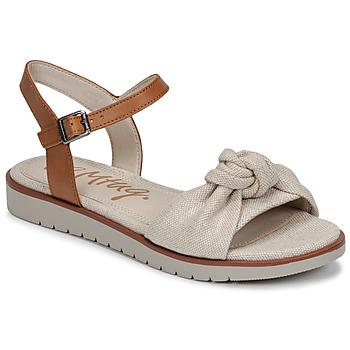 Cipők Női Szandálok / Saruk MTNG 50506 Bézs
