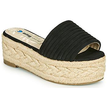 Cipők Női Papucsok MTNG 51118 Fekete