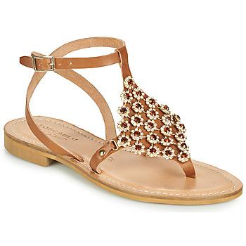 Cipők Női Szandálok / Saruk Tosca Blu PERLA Teve