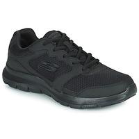 Cipők Férfi Rövid szárú edzőcipők Skechers FLEX ADVANTAGE 4.0 Fekete