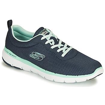 Cipők Női Rövid szárú edzőcipők Skechers FLEX APPEAL 3.0 FIRST INSIGHT Kék