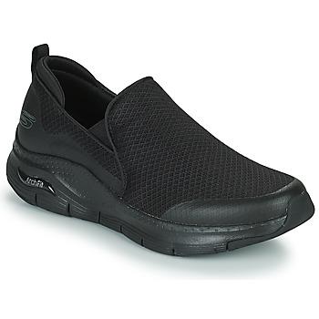Cipők Férfi Rövid szárú edzőcipők Skechers ARCH FIT BANLIN Fekete