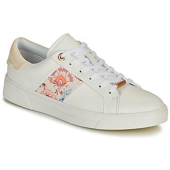 Cipők Női Rövid szárú edzőcipők Ted Baker HUDEP Fehér