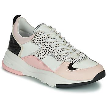 Cipők Női Rövid szárú edzőcipők Ted Baker IZSLA Fehér / Rózsaszín