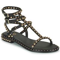 Cipők Női Szandálok / Saruk Ash PLAY Fekete