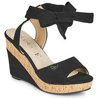 Cipők Női Szandálok / Saruk Les Petites Bombes BELA Fekete