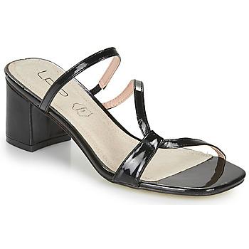 Cipők Női Papucsok Les Petites Bombes BERTHINE Fekete