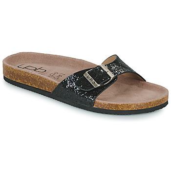 Cipők Női Papucsok Les Petites Bombes ROSA Fekete