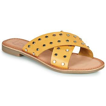 Cipők Női Papucsok Les Petites Bombes BELMA Citromsárga