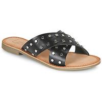 Cipők Női Papucsok Les Petites Bombes BELMA Fekete