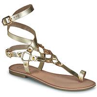 Cipők Női Szandálok / Saruk Les Petites Bombes BLEONA Arany