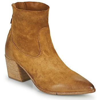 Cipők Női Bokacsizmák Moma OSTUNI Barna