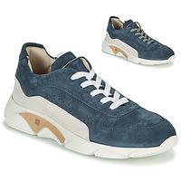 Cipők Férfi Rövid szárú edzőcipők Moma NEW-CASTLE Kék