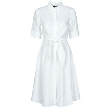 Ruhák Női Rövid ruhák Lauren Ralph Lauren WAKANA Fehér