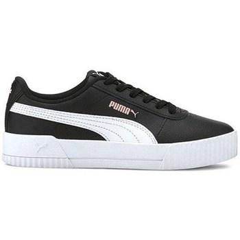 Cipők Gyerek Rövid szárú edzőcipők Puma Carina L JR Fekete