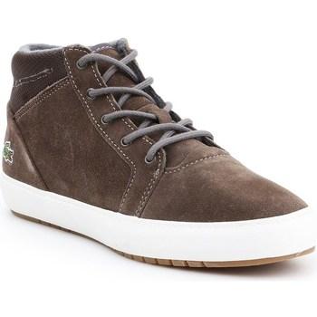 Cipők Női Csizmák Lacoste Ampthill Chukka 417 1 Caw Barna