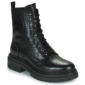 Cipők Női Csizmák Minelli LAMINA Fekete