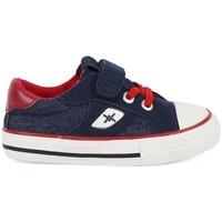 Cipők Fiú Rövid szárú edzőcipők Chika 10 24453-18 Kék