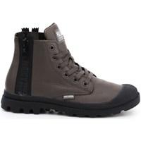 Cipők Női Magas szárú edzőcipők Palladium Manufacture Pampa Ubn Zips Barna
