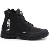 Cipők Női Magas szárú edzőcipők Palladium Manufacture Pampa Ubn Zips Fekete