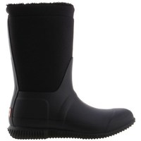 Cipők Női Gumicsizmák Hunter Original Insulated Roll Top Sherpa Boots Fekete