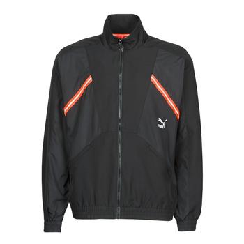 Ruhák Férfi Melegítő kabátok Puma WVN JACKET Fekete  / Piros