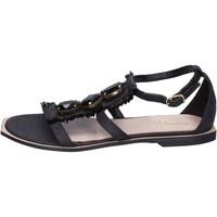 Cipők Női Szandálok / Saruk Jeannot BK788 Fekete