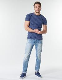 Ruhák Férfi Egyenes szárú farmerek Replay WIKKBI Szuper / Világos / Kék