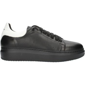 Cipők Férfi Rövid szárú edzőcipők Exton 955PE2020 Fekete