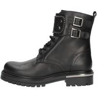 Cipők Lány Csizmák Nero Giardini I031740F Fekete