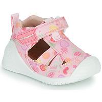 Cipők Lány Szandálok / Saruk Biomecanics 212212 Rózsaszín